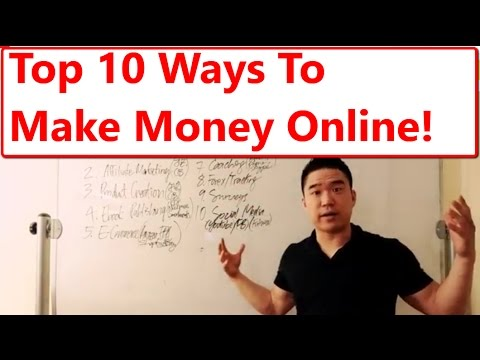 Top 10 Ways On How to Make Money Online Fast Working From Home or Anywhere for 2017 and Future!