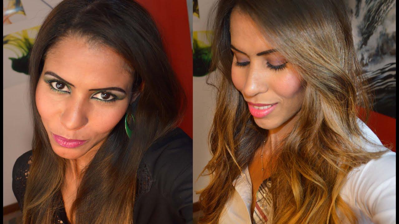 Ombr 233 Hair Sem Descolorante Por Janaina Pauferro Youtube