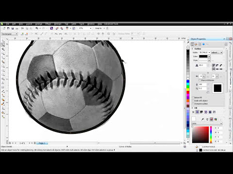 CorelDRAW X6 for Beginners the Objects Docker in PhotoPaint