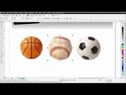 CorelDRAW X6 for Beginners the Objects Docker in PhotoPaint