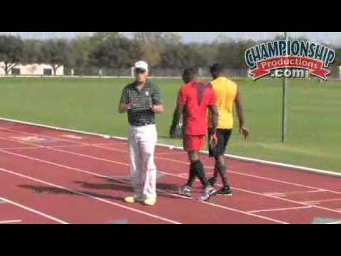 Clyde Hart&#039;s 200/400M Sprint Training Program