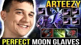 Arteezy Luna Crazy Moon Glaives ULTRAKILL with SATANIC