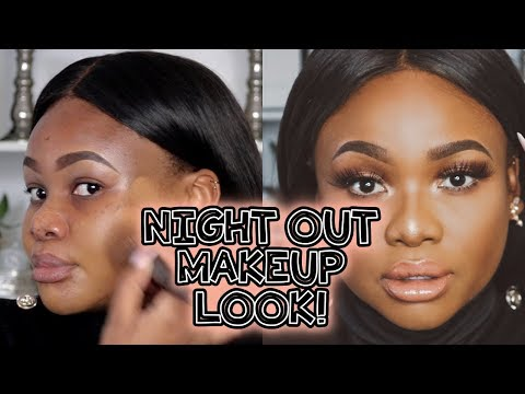 FULL COVERAGE NIGHT OUT / CLUBBING MAKEUP TUTORIAL + GIVEAWAY!   Cynthia Gwebu