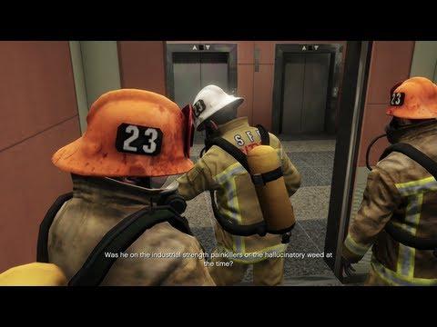 Grand Theft Auto V - The Bureau Raid - Fire Crew