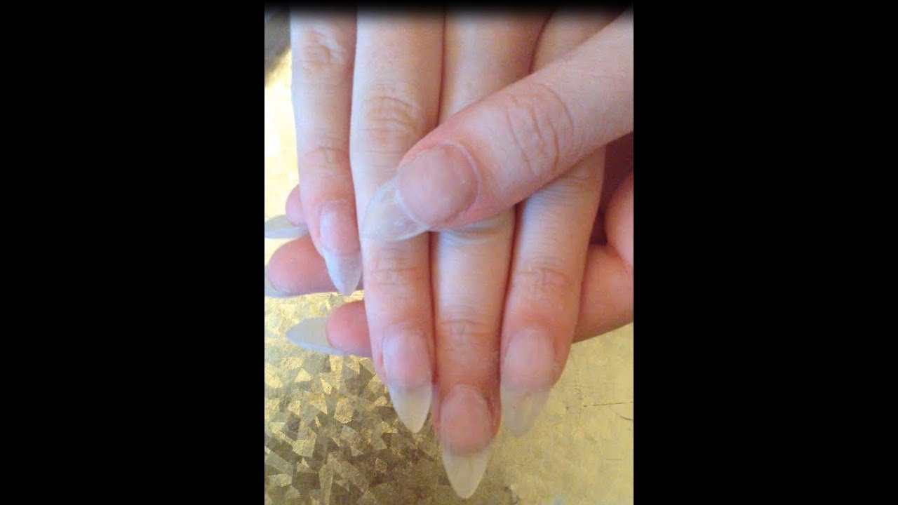 Gel Nails Almond Shape