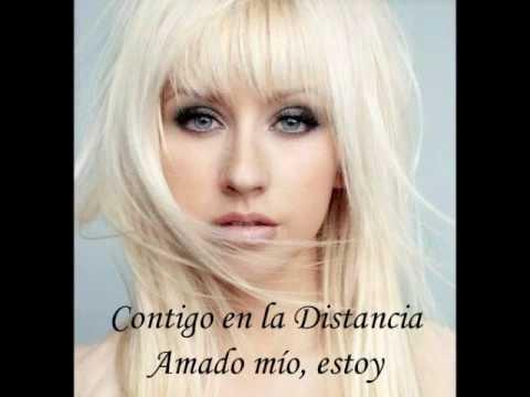 Beyonce 1999 on Canci  N Contigo En La Distancia De Christina Aguilera  Letra Y Videos