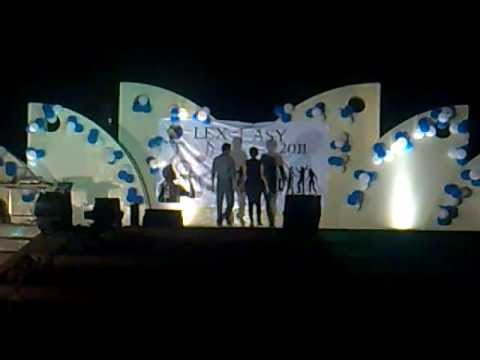 Fashion Show-Lextasy 2011 in Wipro Technology