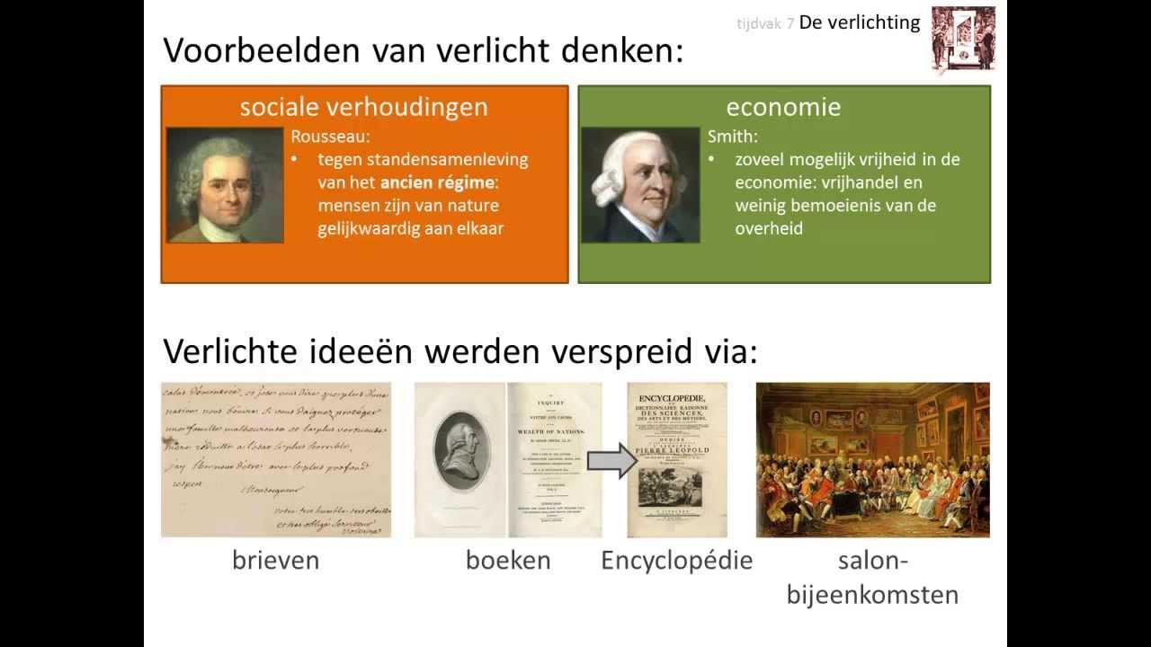 Scholieren.com Videoplatform :: Tijdvak 7: De verlichting