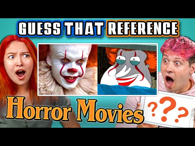 GUESS THAT HORROR MOVIE REFERENCE! (React) thumbnail