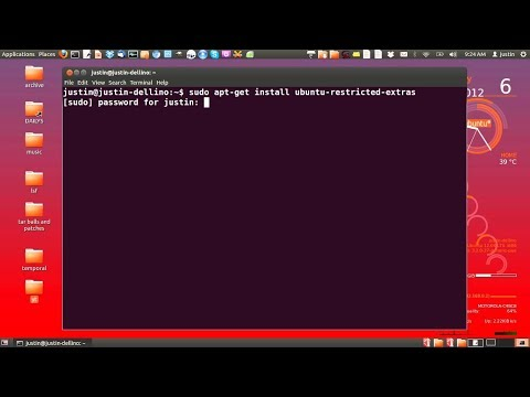 How to Install Video codecs on Ubuntu
