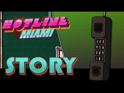 Hotline Miami Cutscenes | The Movie | Story English FullHD 1080p...