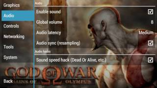 Best settings for god of war chains of olympus ppsspp