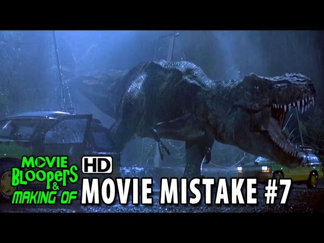 Jurassic Park (1993) movie mistake #7