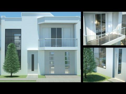 Casa Moderna Minimalista Dise O De Interiores Prado Verde
