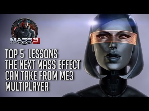 Top 5 Lessons the Next Mass Effect Can Take from ME3 Multiplayer