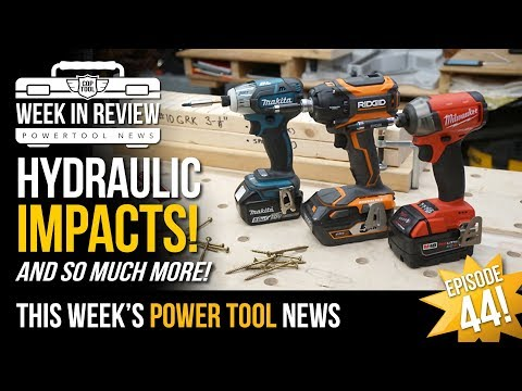 New Cordless Festool & Milwaukee. Tools Reviews & DIY Projects - CopTool Week In Review 1/25/2019