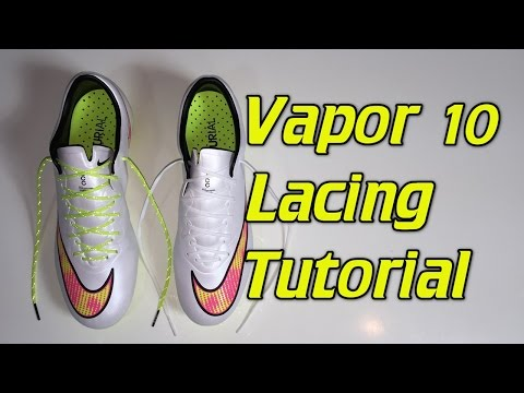 How To Replace The Laces On The Vapor 10 - SR4U Laces Tutorial