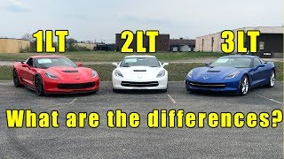 What are the differences? 2019 Chevy corvette Trim levels explained. Stingray, Z51, Grand Sport, Z06