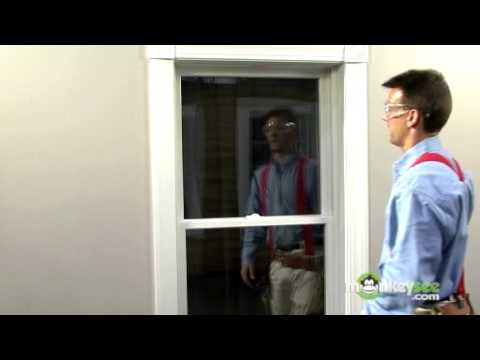Energy Efficient Windows - How to Install a Double Hung Conversion Kit