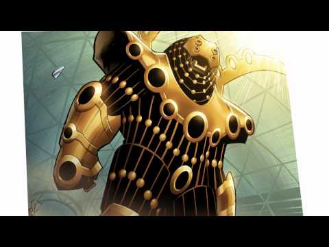 Iron Man #13: Kieron Gillen Talks Robots and Death's Head - Marvel AR 002 003 tag