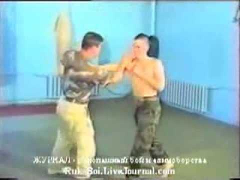 #2-4 защита от ножа,  ВДВ России десантура рукопашный бой спецназа обучение приемы видео урок