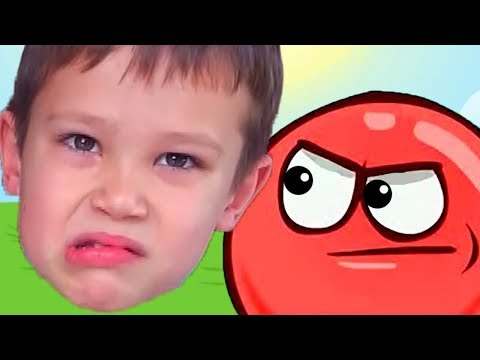 КРАСНЫЙ ШАР против МИСТЕР МАКСА - мультик игра, детский летсплей #3