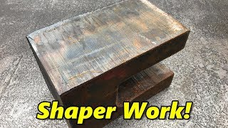 Shaping a Hydraulic Rod Clevis Part 1