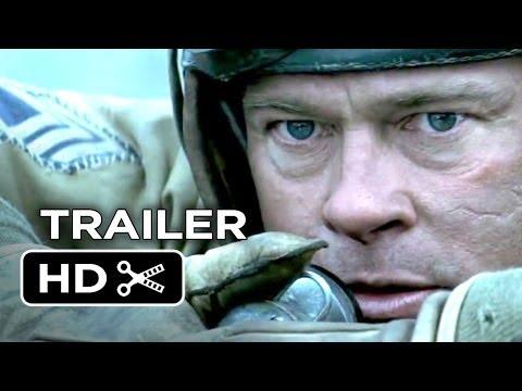 Fury Official Trailer #1 (2014) - Brad Pitt, Shia LaBeouf War Movie HD