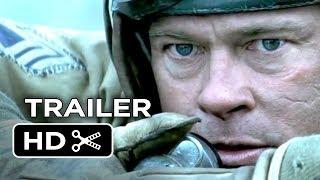 Fury Official Trailer (2014) - Brad Pitt, Shia LaBeouf War Movie HD