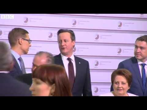 David Cameron asks Jean Claude Juncker for EU change