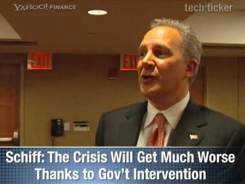 Peter-Schiff - Fed Face Off (Yahoo Finance)