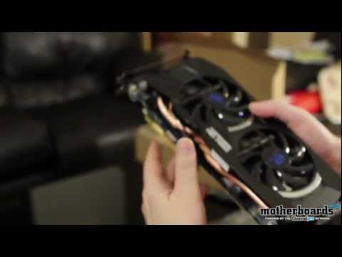 Sapphire AMD HD 7950 OverClock Edition 3GB Video Card Unboxing