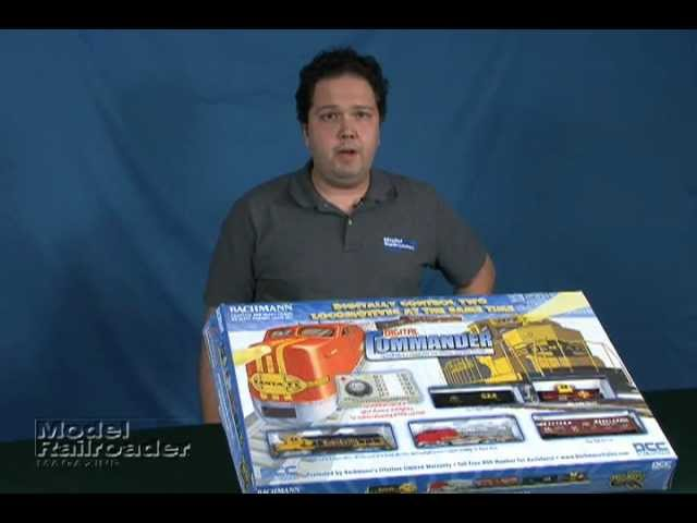 Model Railroader magazine Bachmann Commander HO DCC Train Set review