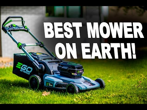 EGO Power+ Cordless Battery Powered Lawn Mower Unboxing and Review
