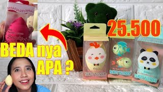SPONGES LOKAL SUPER MURAH & LUCU CUMA 25.500 ! | FANBO BEAUTY BLENDER | Maria Soelisty