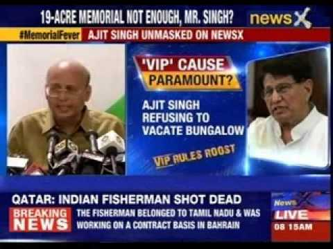 Ajit Singh demands second memorial for father
