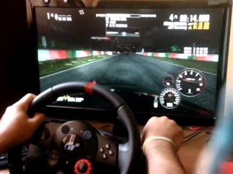 Logitech Driving Force GT Gameplay 900°