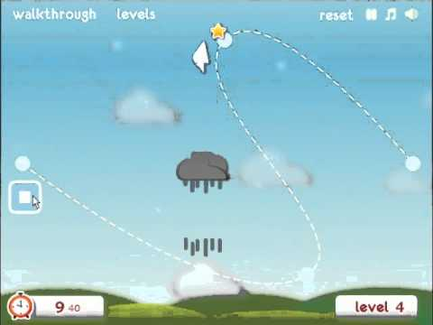 Cloudy Walkthrough - Levels 1-10