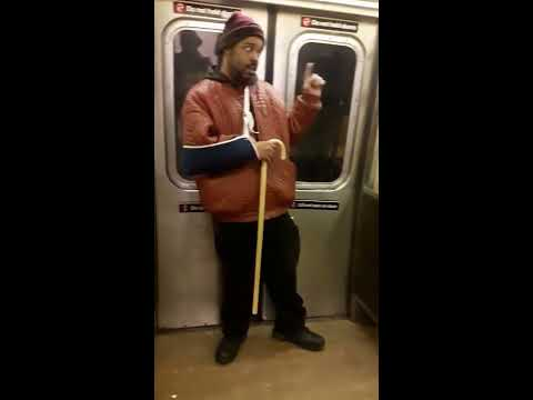 Jamel Wright - Love you like i do (NYC Subway Talent)