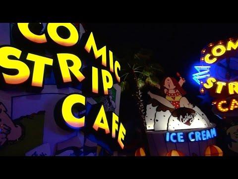 Islands of Adventure 2014 Tour at Night - Universal Orlando Resort