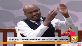 JKLIVE | Moses Kuria Declares Bid For Presidency in 2022 [Part 1]