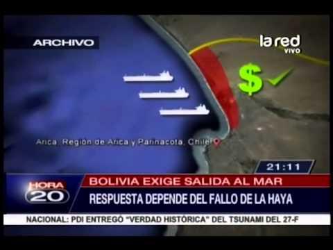Chile Bolivia Mar Bolivia Exige Salida al Mar