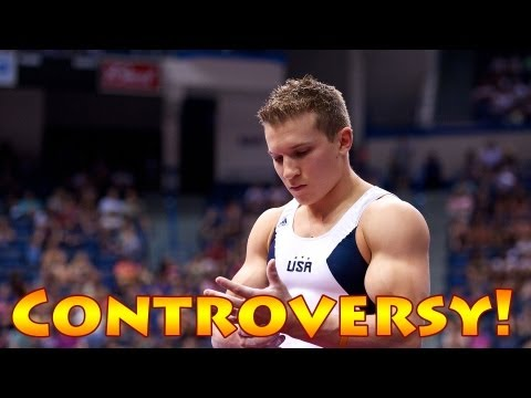 OLYMPIC GYMNASTICS CONTROVERSY!