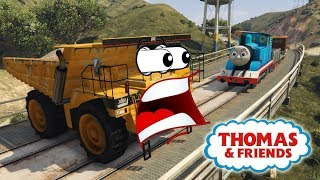 Thomas and Friends Trains for Toddlers Video Learning with Spiderman Cartoon for Children