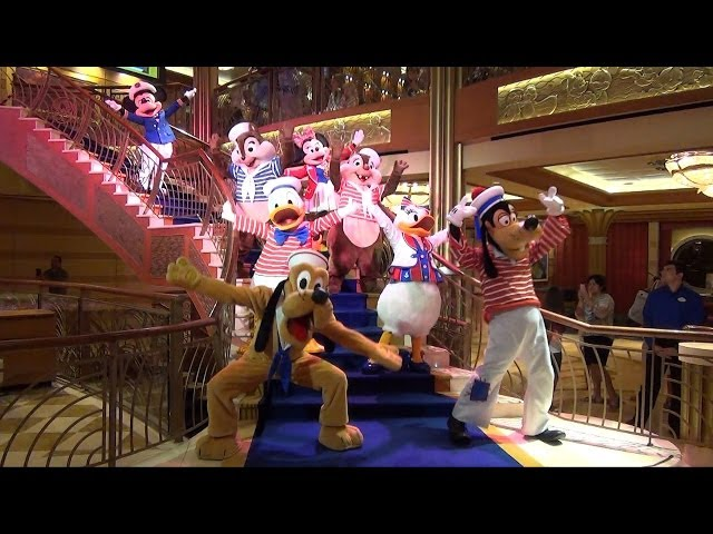 """See Ya Real Soon"" Finale Show on Disney Dream Cruise w/ Mickey, Donald, Minnie & Princesses"