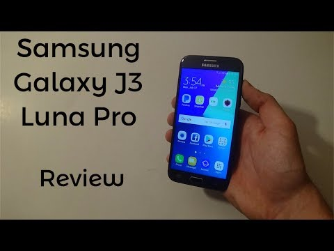 Samsung Galaxy J3 Luna Pro Review