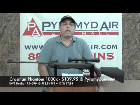 Crosman Phantom 1000x - Great rifle for shooters on a budget!