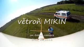 RC větroň MIKIN on board camera