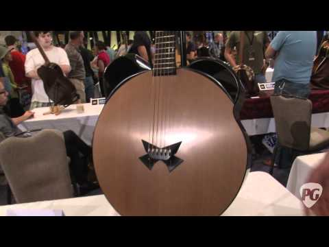 Montreal Guitar Show '11   Prohaszka Guitars Mickey Mouse