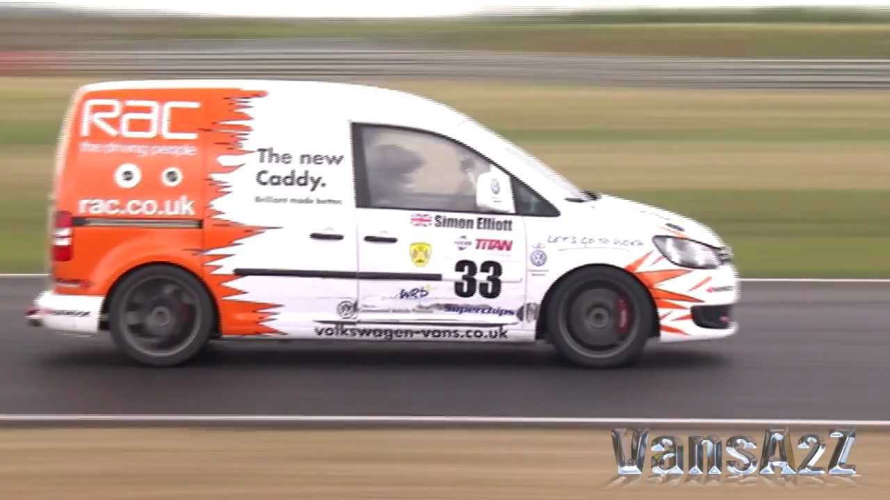 new vw caddy racer 2011 snetterton youtube. Black Bedroom Furniture Sets. Home Design Ideas